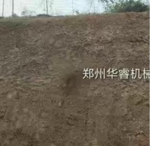 边坡绿化客土草种喷播机喷播视频-草种喷播机