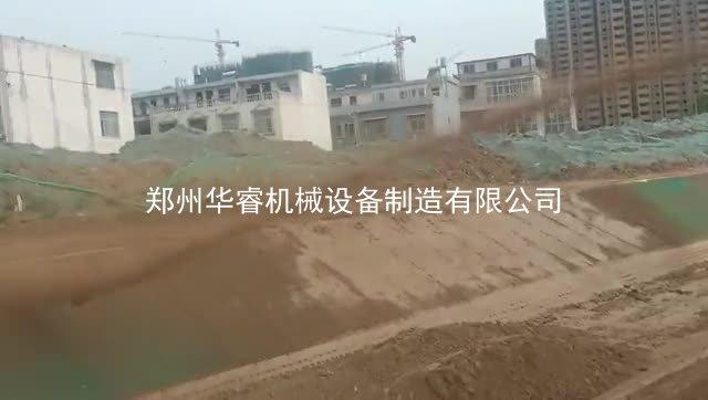 安徽宿州市政工程边坡绿化喷播机边坡绿化视频